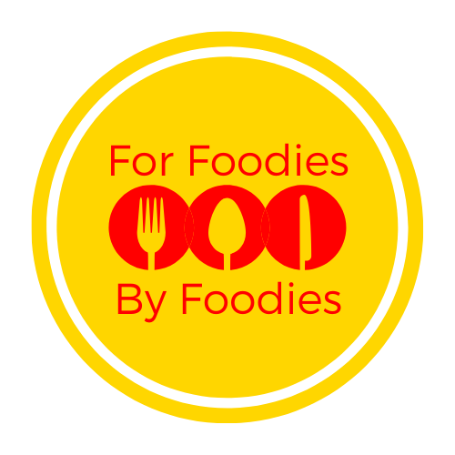 For Foodies By Foodies Logo