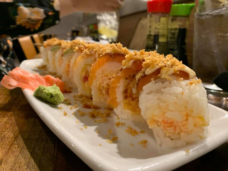 Fujiyama Sushi - Hawaiian Sushi Roll - 1