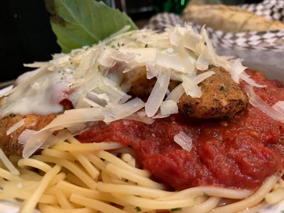 Chicken Parmigiana - Papa's Uptown - Prescott, AZ - Taken by For Foodies By Foodies