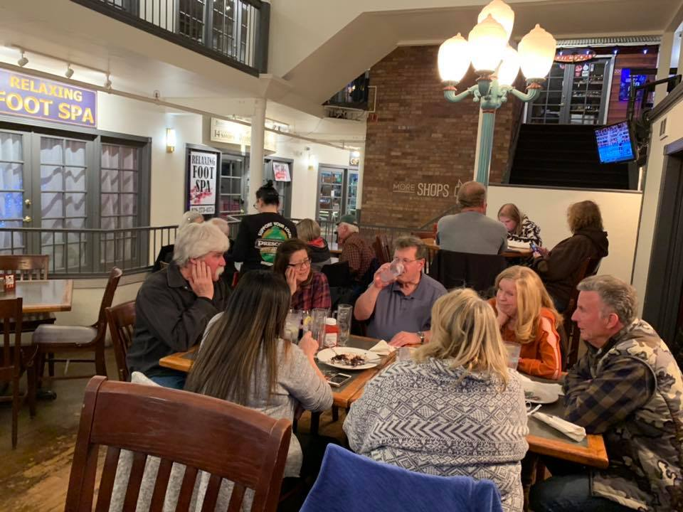 Courtyard Atmosphere - Prescott Brewing Company - Prescott, AZ - Taken By For Foodies By Foodies
