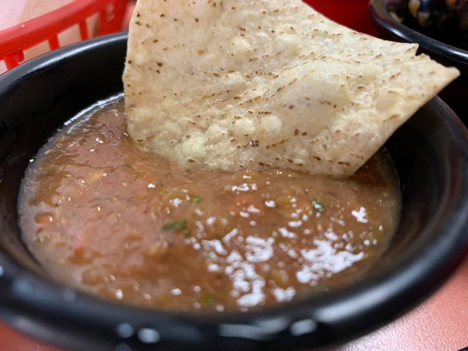 Homemade Spicy Salsa1 - Barbudo's Cantina - Prescott, AZ - Taken By For Foodies By Foodies