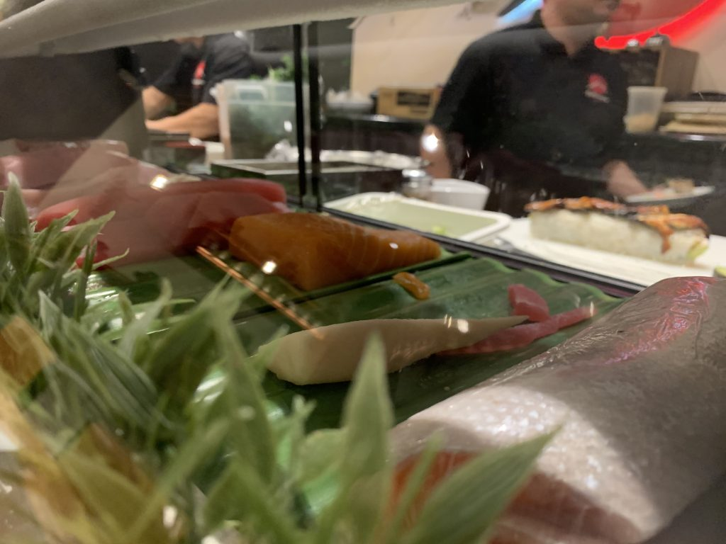 Sushi Bar View - Fujiyama Sushi Bar - For Foodies By Foodies Review