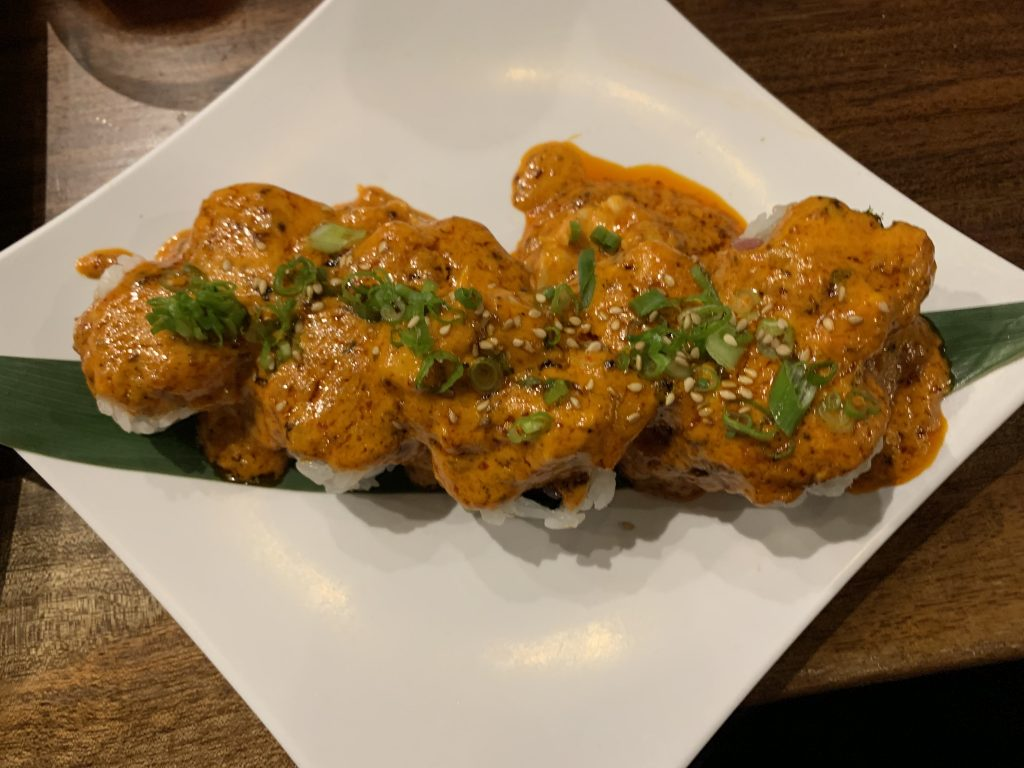 Samarai Sushi Roll - Fujiyama Sushi Bar - For Foodies By Foodies Review