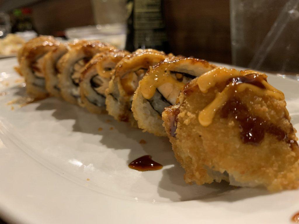Las Vegas Sushi Roll - Fujiyama Sushi Bar - For Foodies By Foodies Review