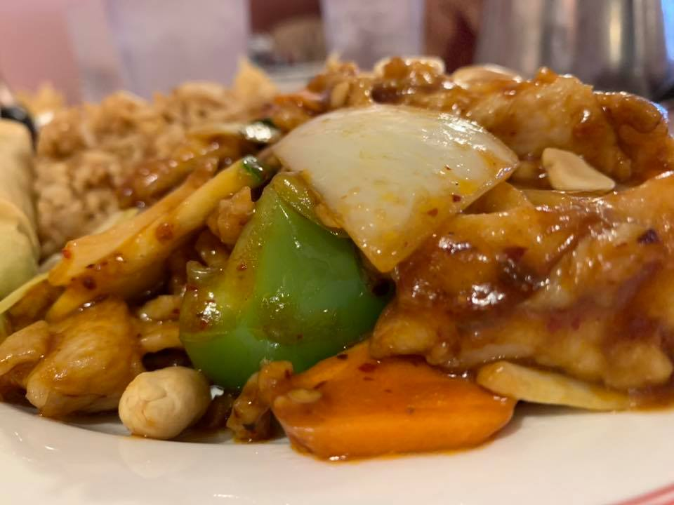 Kung Pao Chicken - Beijing Garden Chinese Restaurant - Prescott, AZ - Taken by For Foodies By Foodies