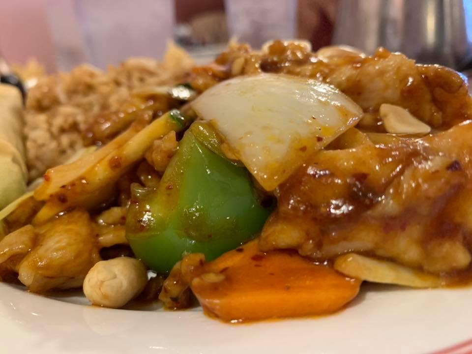 Kung Pao Chicken - Beijing Garden Chinese Restaurant - Prescott, AZ - Taken by For Foodies By Foodies